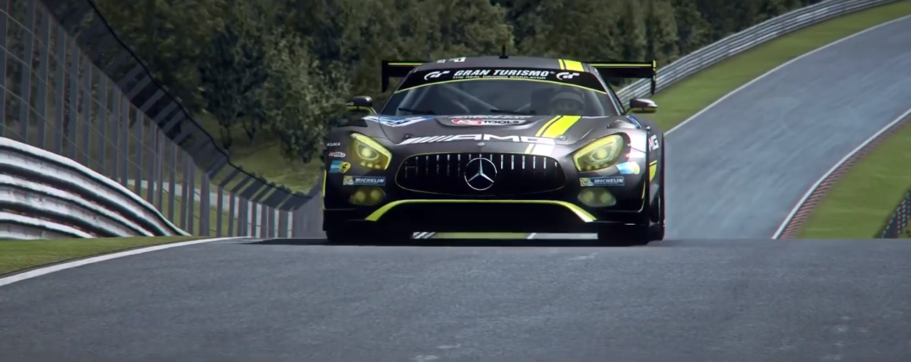 RaceRoom Mercedes AMG GT3 trailer screenshot 1