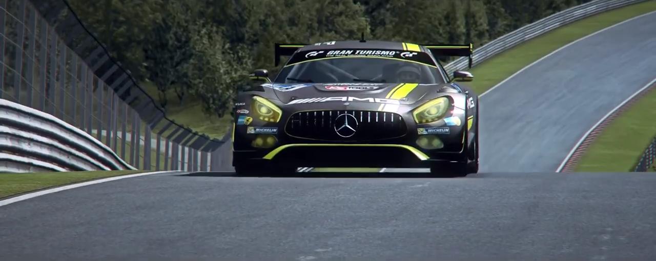 RaceRoom Mercedes AMG GT3 trailer screenshot 1