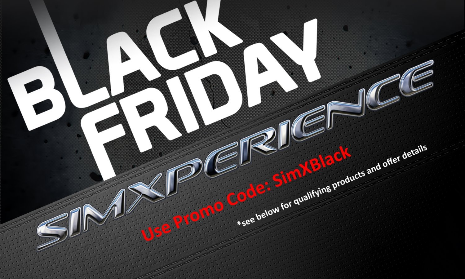 SimXperience Black Firday sale