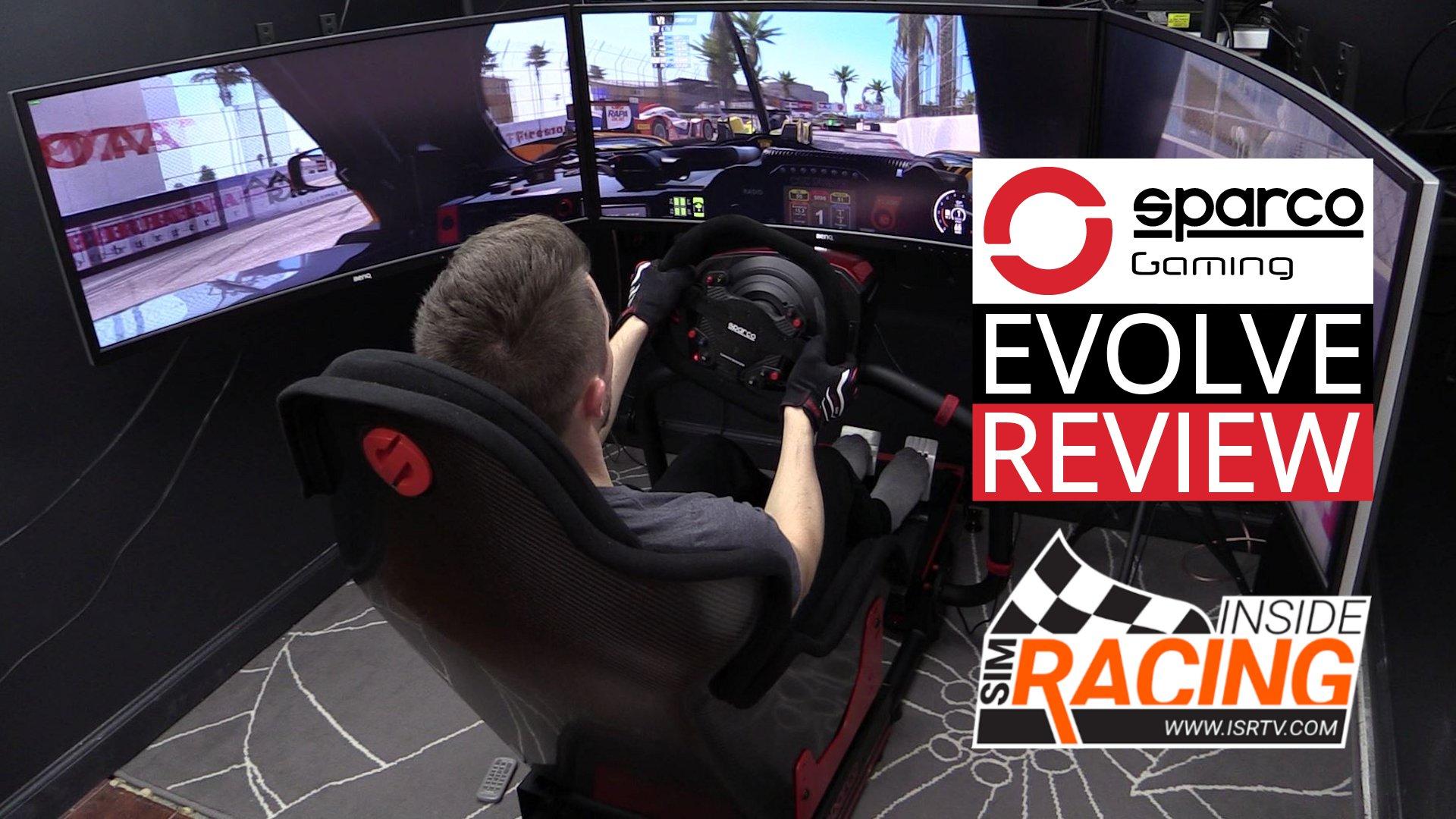 Sparco Evolve Racing Simulator Review - Inside Sim Racing