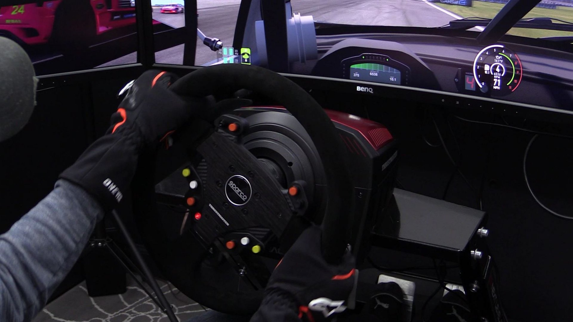 Thrustmaster Sparco R383 Mod Wheel Review