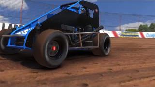 iRacing dirt midget screenshot