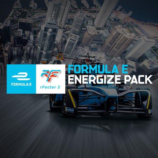 rFactor 2 Formula E Energize Pack