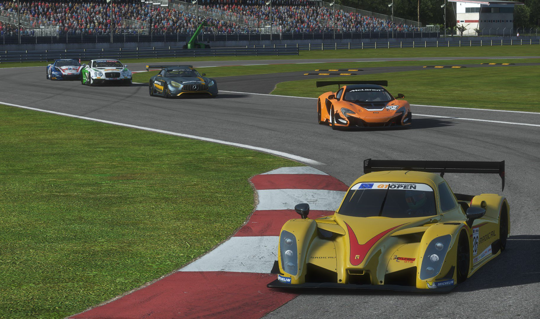rFactor 2 GT3 power pack all cars 1