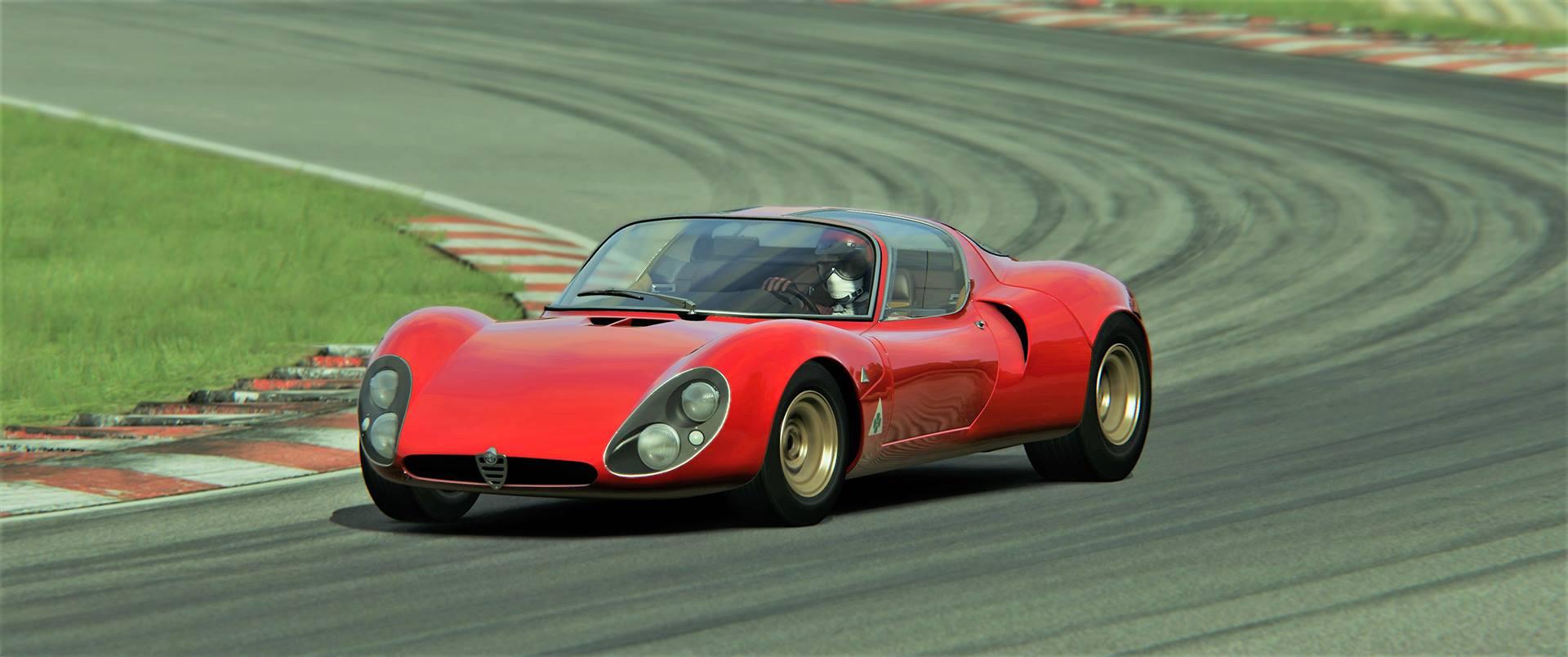 Assetto Corsa Alfa Romeo 33 Stradale 1