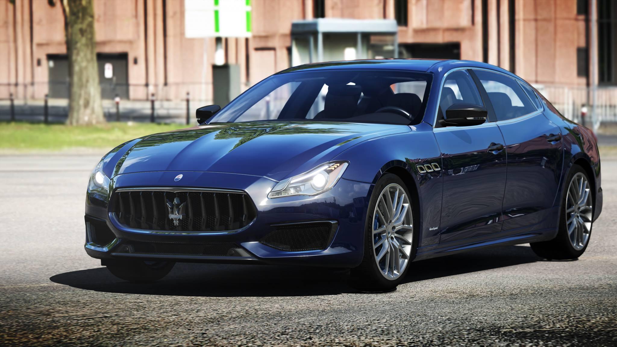 Assetto Corsa Maserati Quattroporte