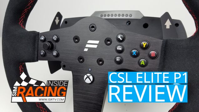 CSL Elite P1 Steering Wheel Review