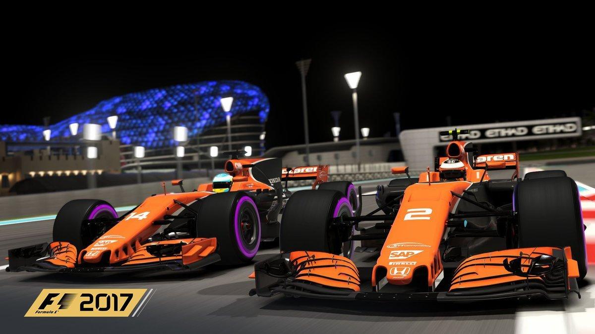 F1 2017 McLarens Yas Marina