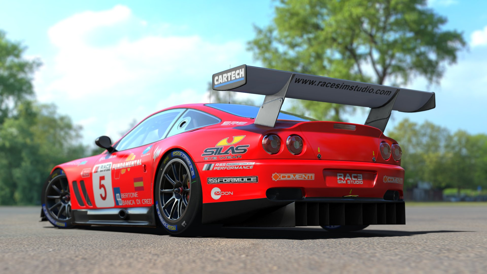 Race Sim Studio GT Pack part 1 Ferruccio 550 v12 2