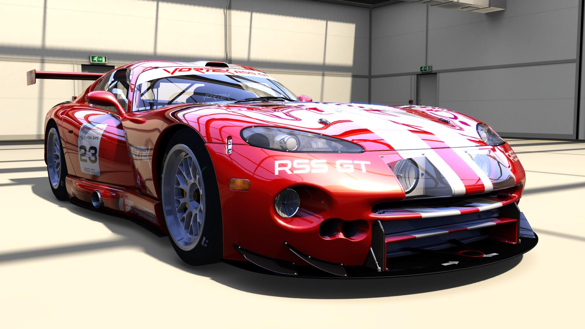 Race Sim Studio GT Pack part 1 Vortex v12 1