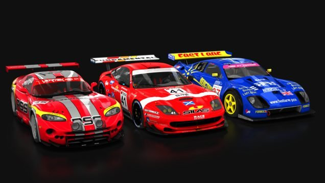 Race Sim Studio GT Pack part 1 all cars