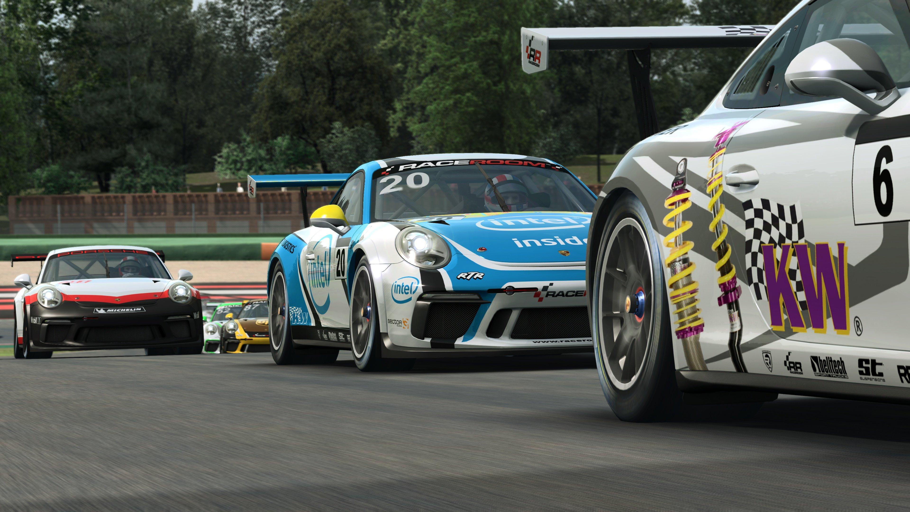 RaceRoom 991.2 Porsche 911 GT3 Cup 17
