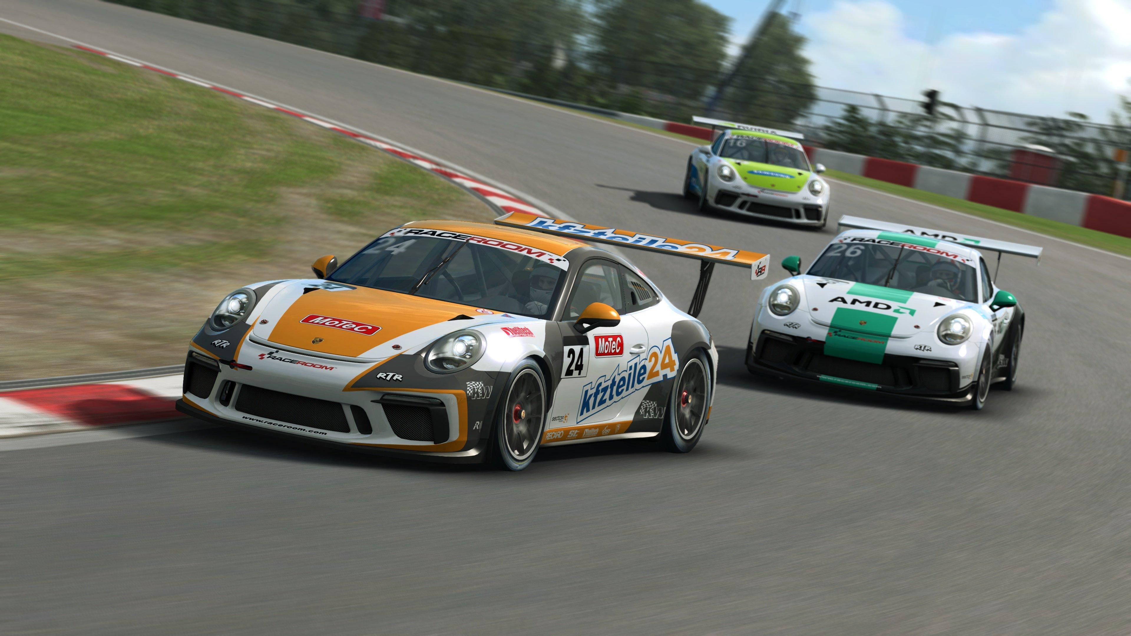 RaceRoom 991.2 Porsche 911 GT3 Cup 25