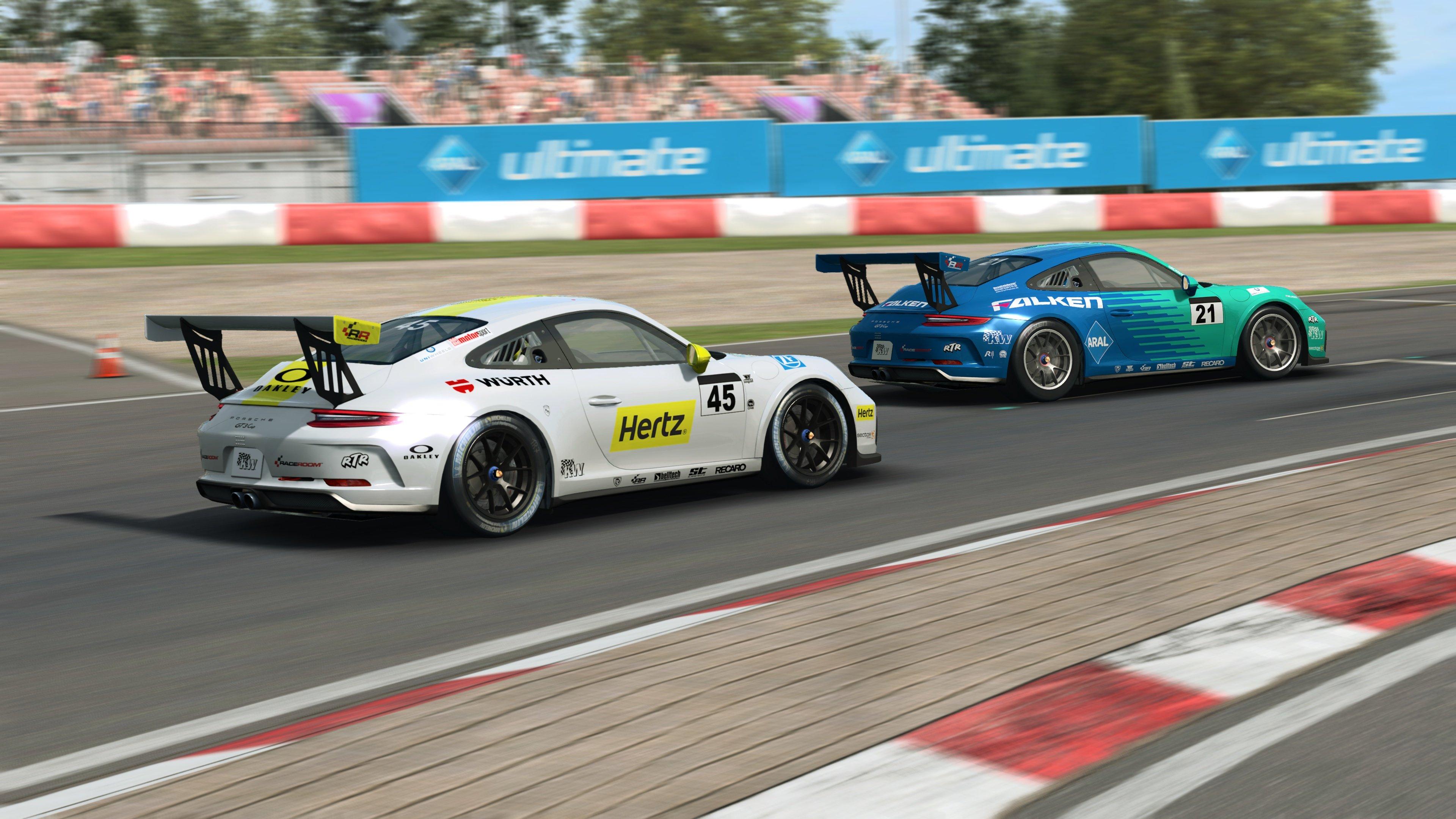 RaceRoom 991.2 Porsche 911 GT3 Cup 30