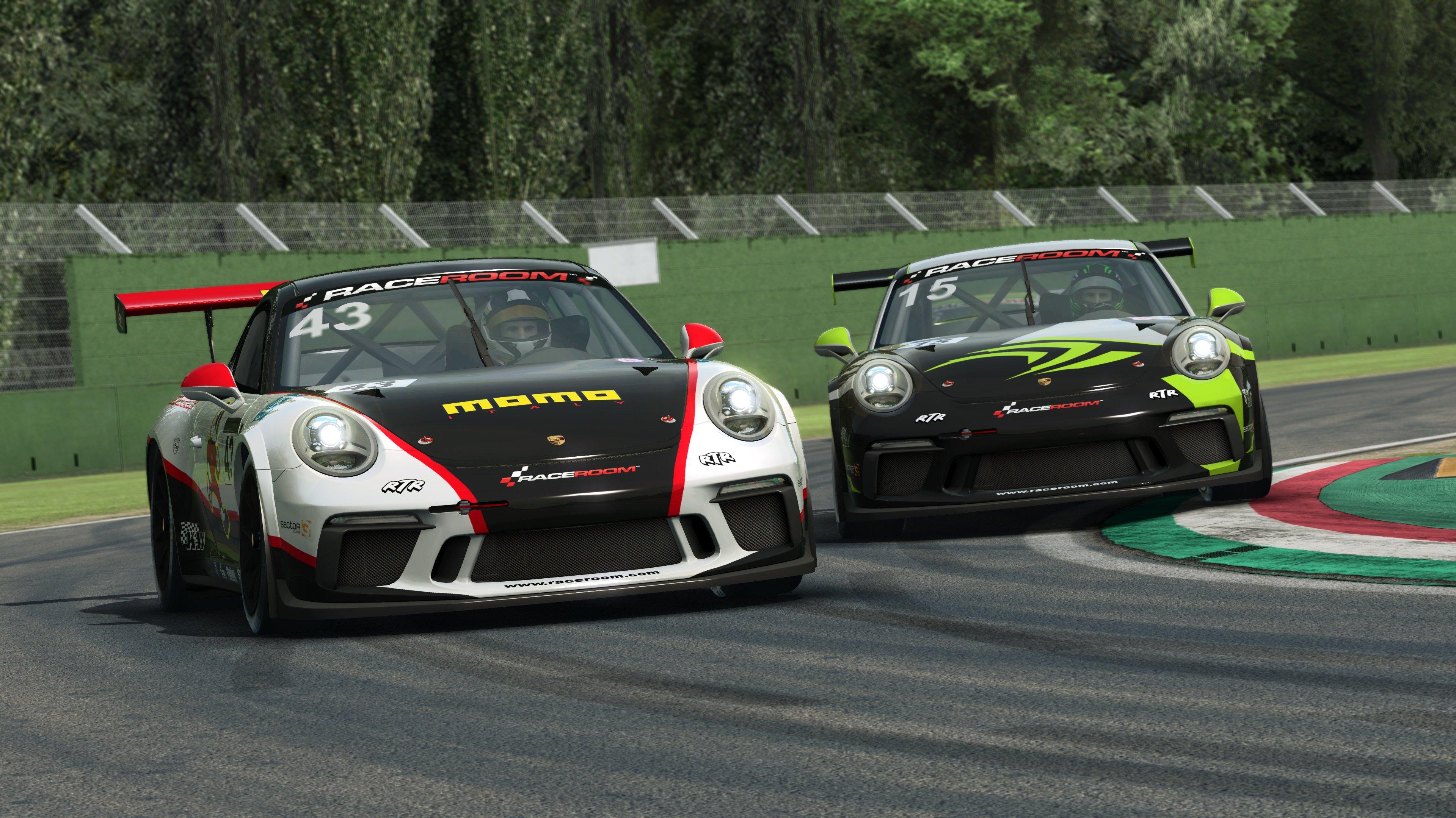 RaceRoom 991.2 Porsche 911 GT3 Cup 5