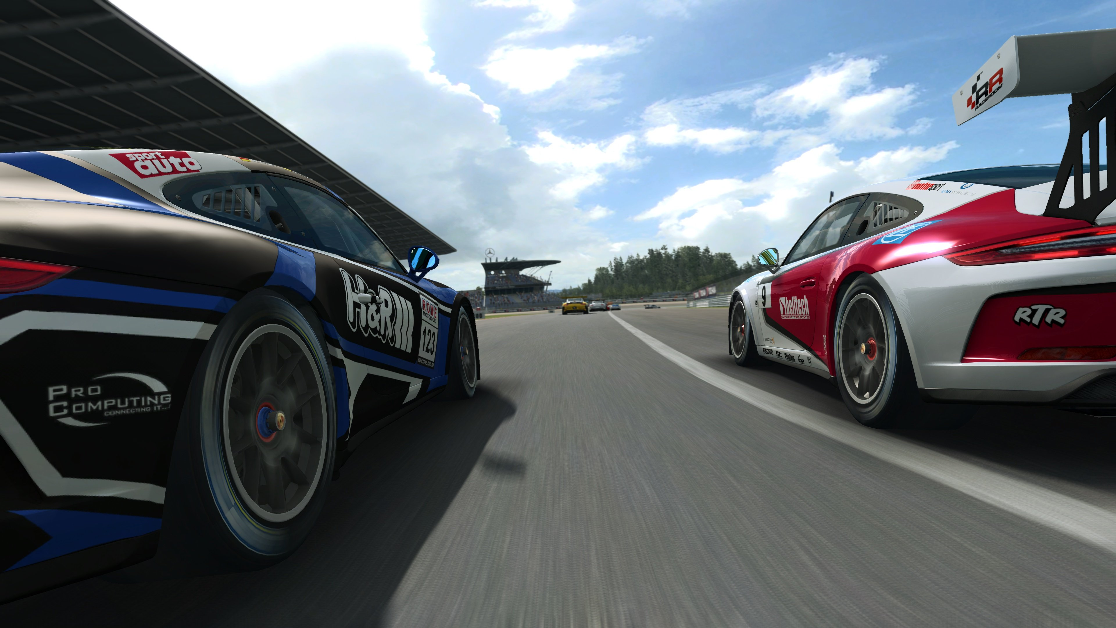 RaceRoom 991.2 Porsche 911 GT3 Cup 9
