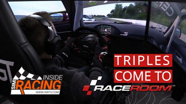 RaceRoom Gets Triple Screen Support