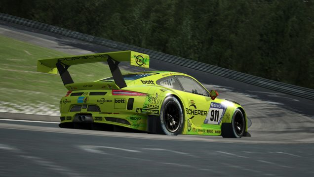 RaceRoom Porsche 911 GT3 R 1
