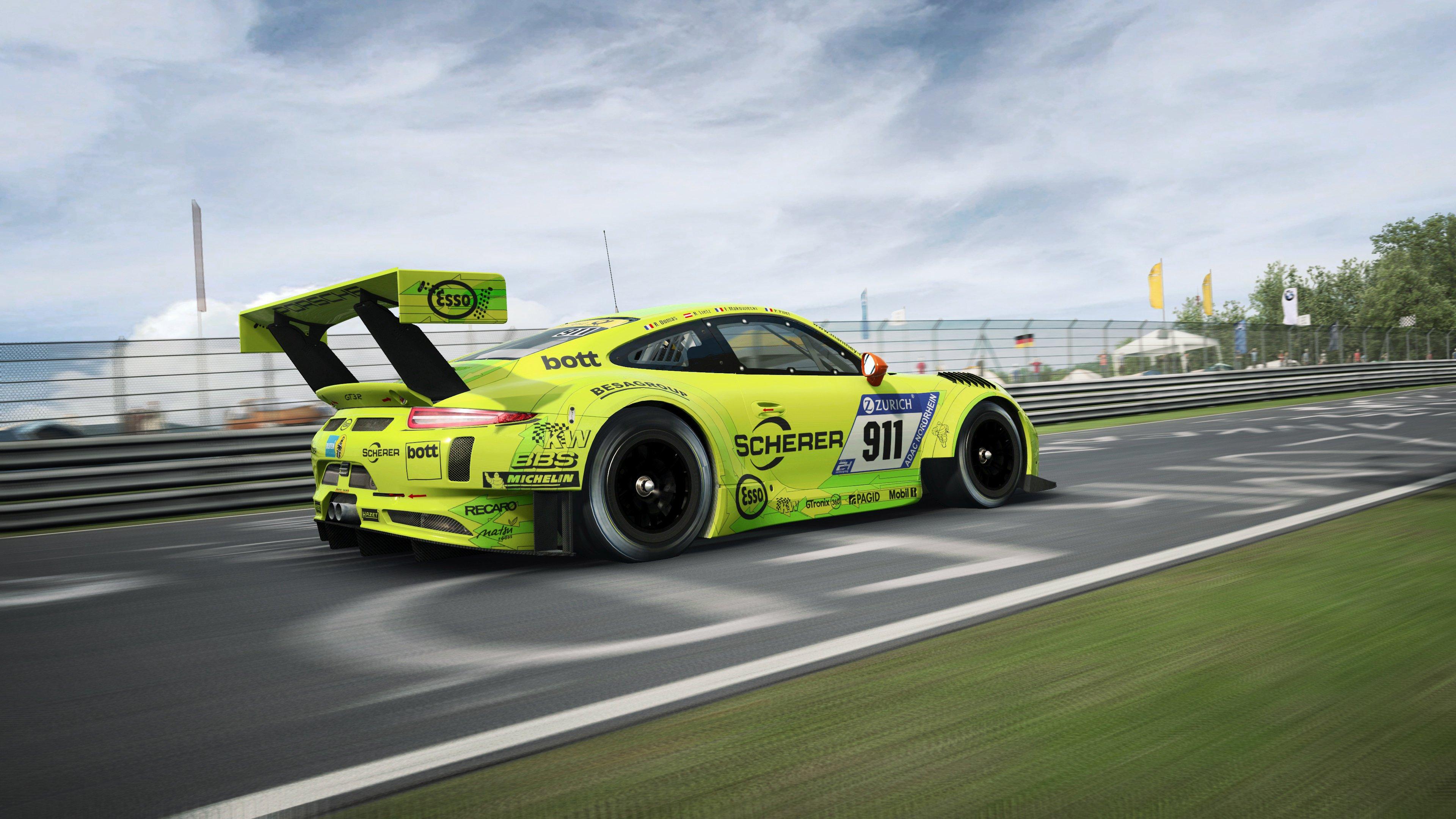 RaceRoom Porsche 911 GT3 R 12