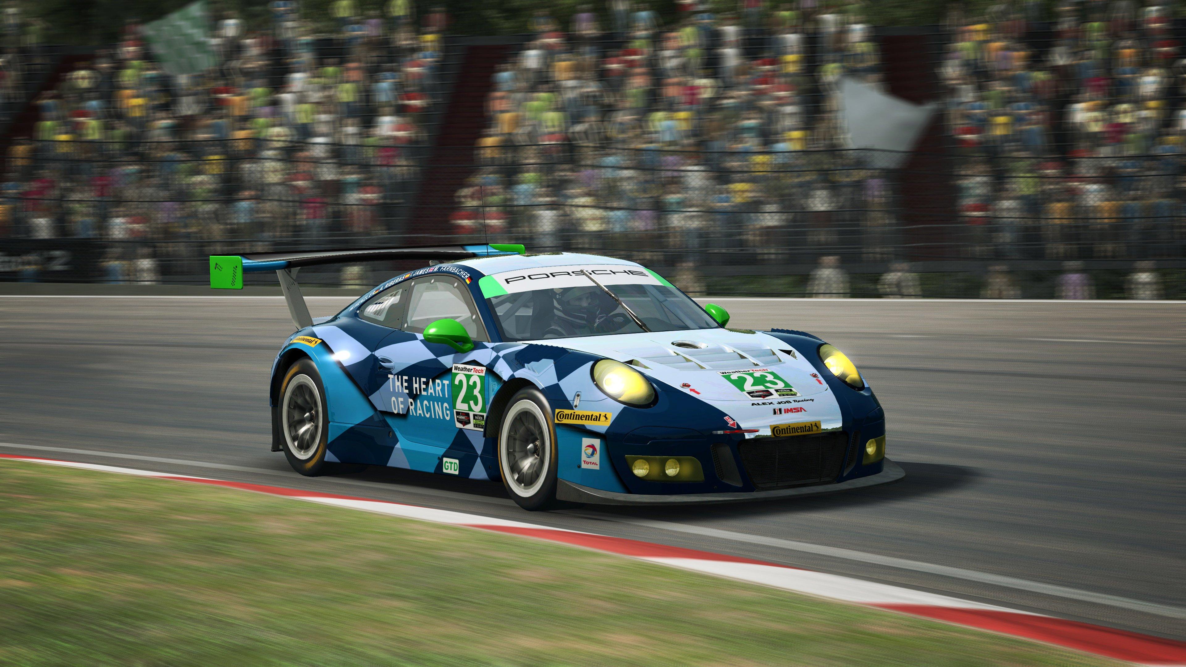 RaceRoom Porsche 911 GT3 R 15