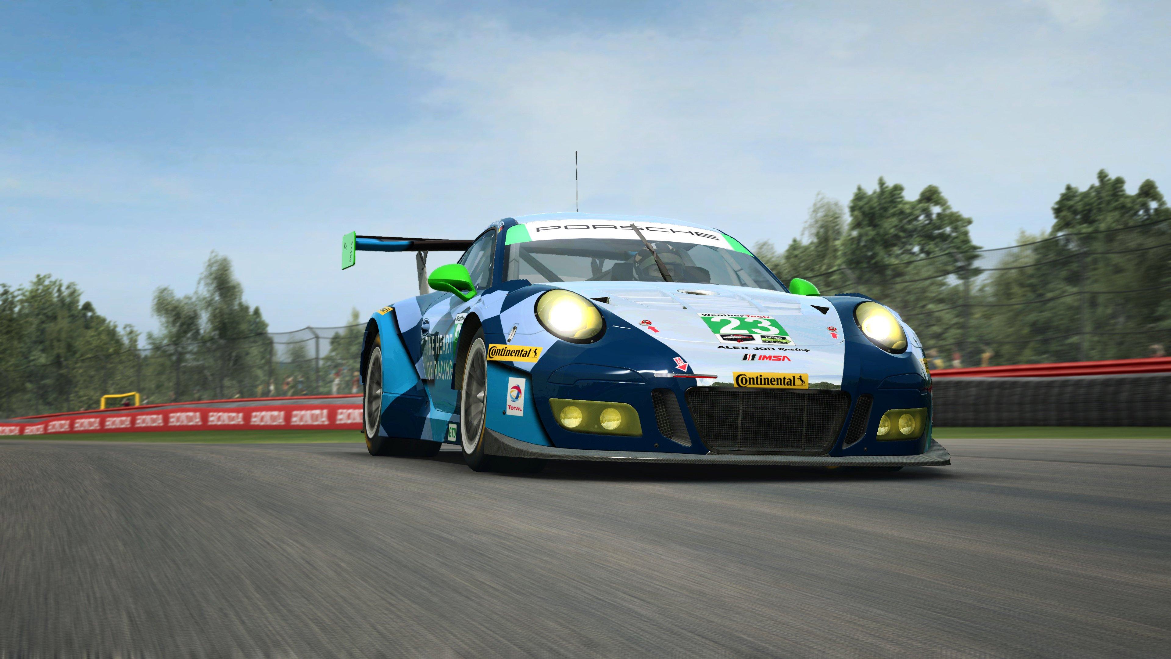 RaceRoom Porsche 911 GT3 R 17