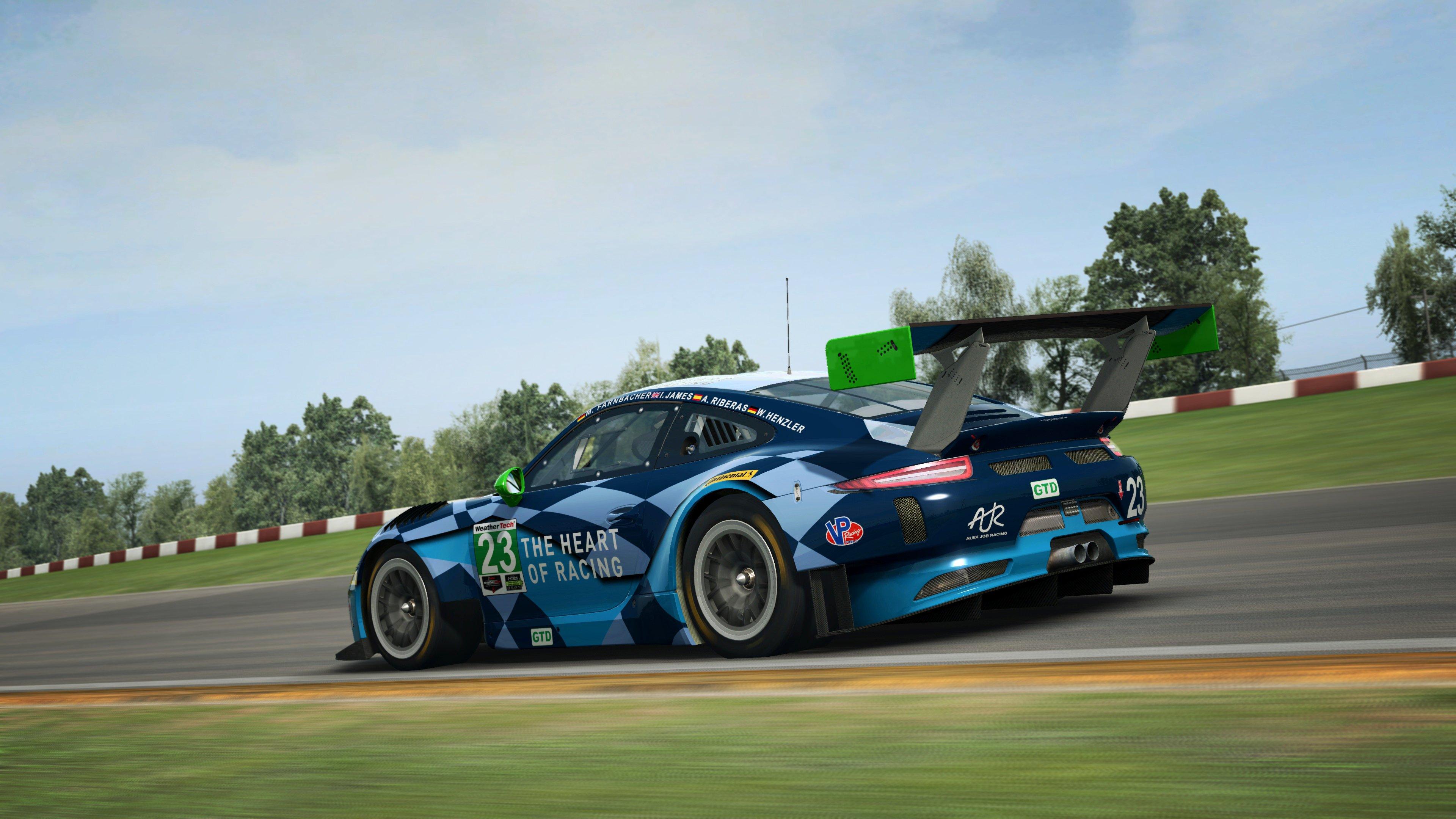 RaceRoom Porsche 911 GT3 R 18