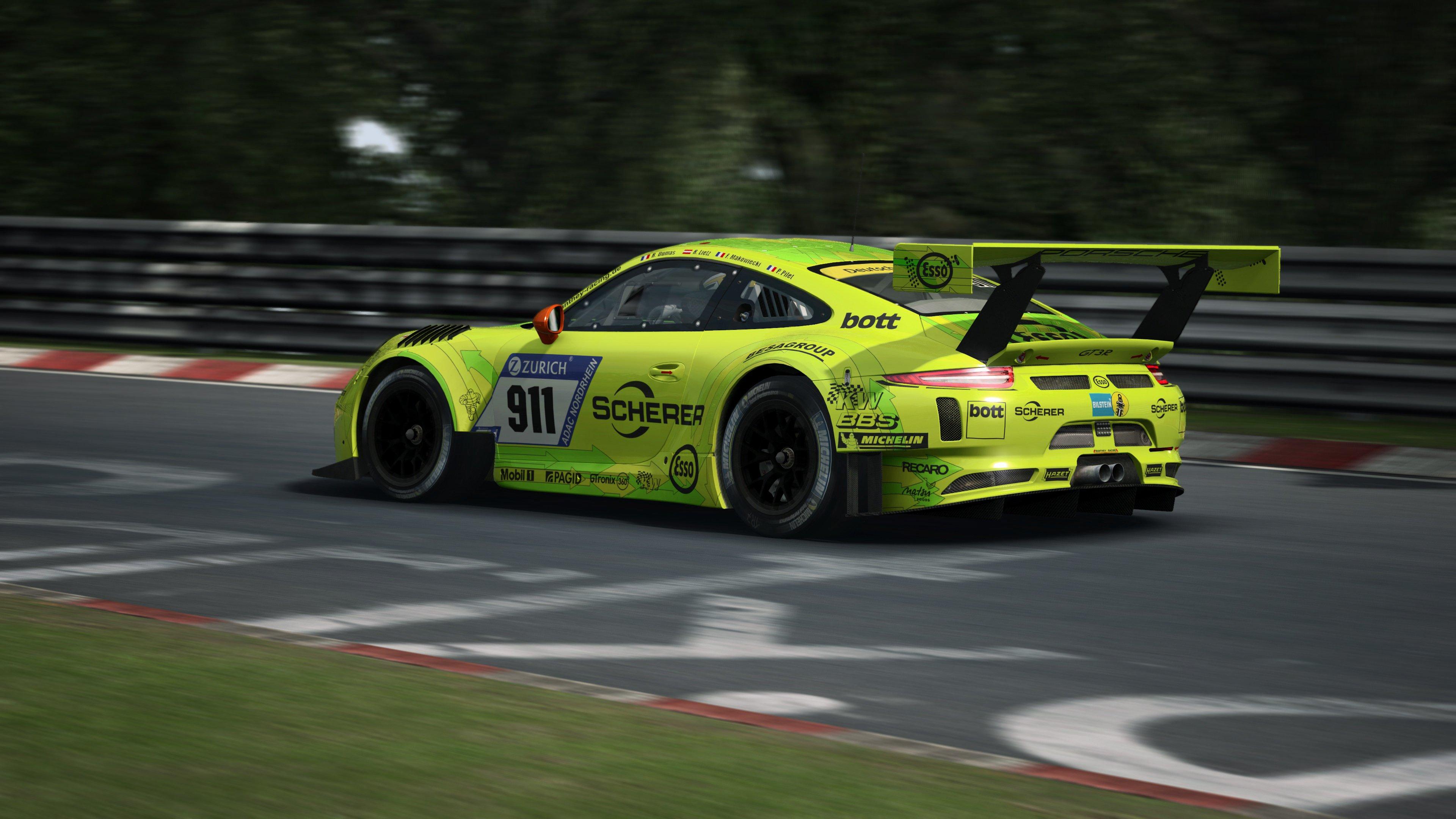 RaceRoom Porsche 911 GT3 R 19