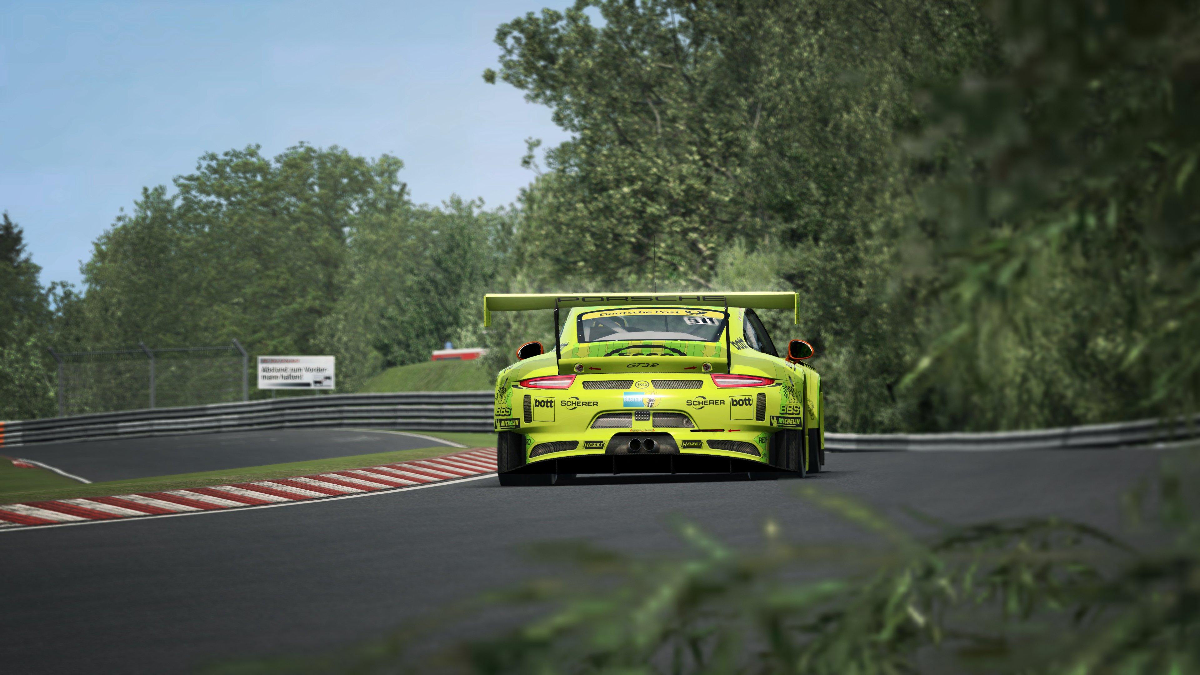 RaceRoom Porsche 911 GT3 R 2