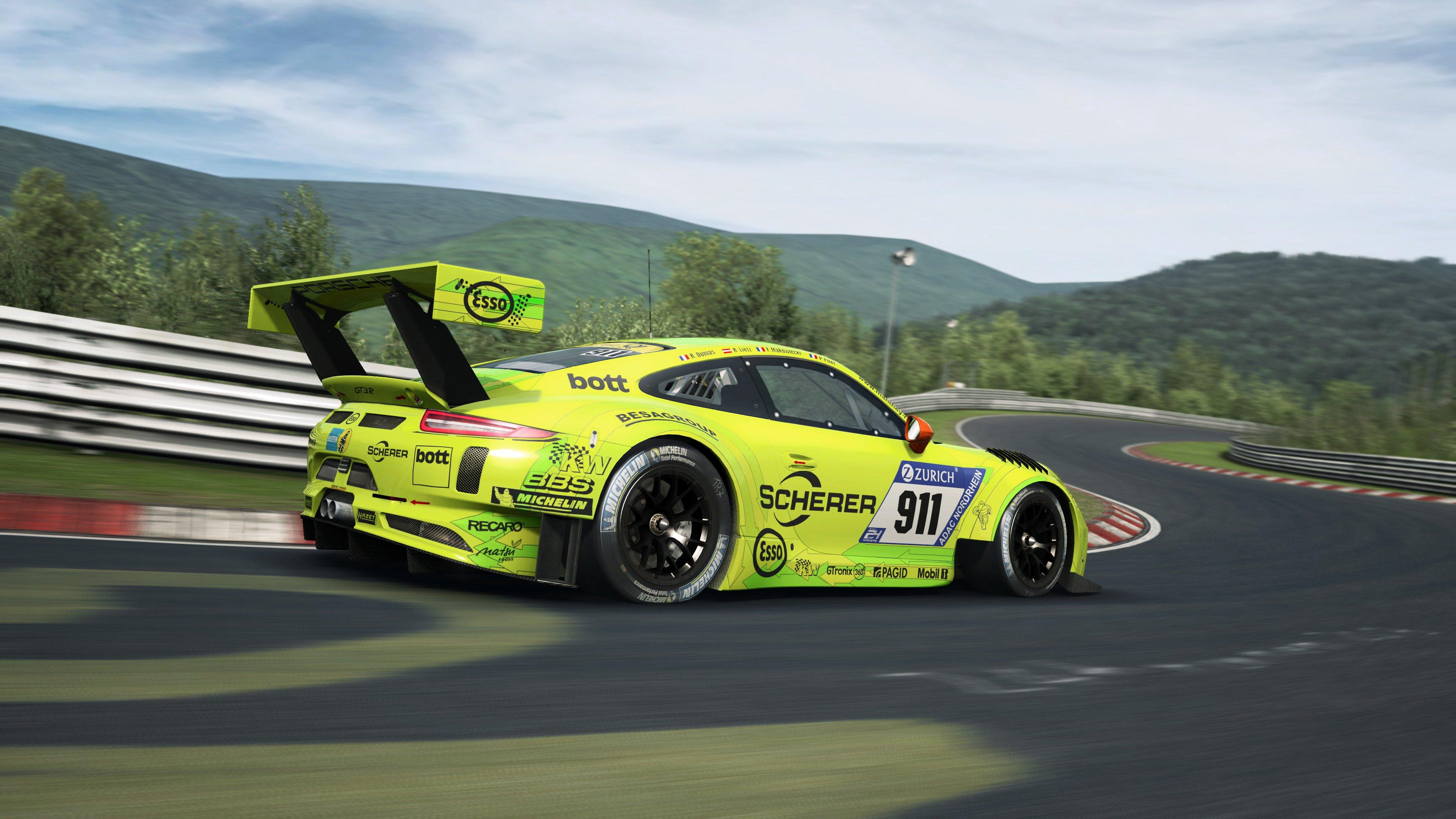 RaceRoom Porsche 911 GT3 R 24