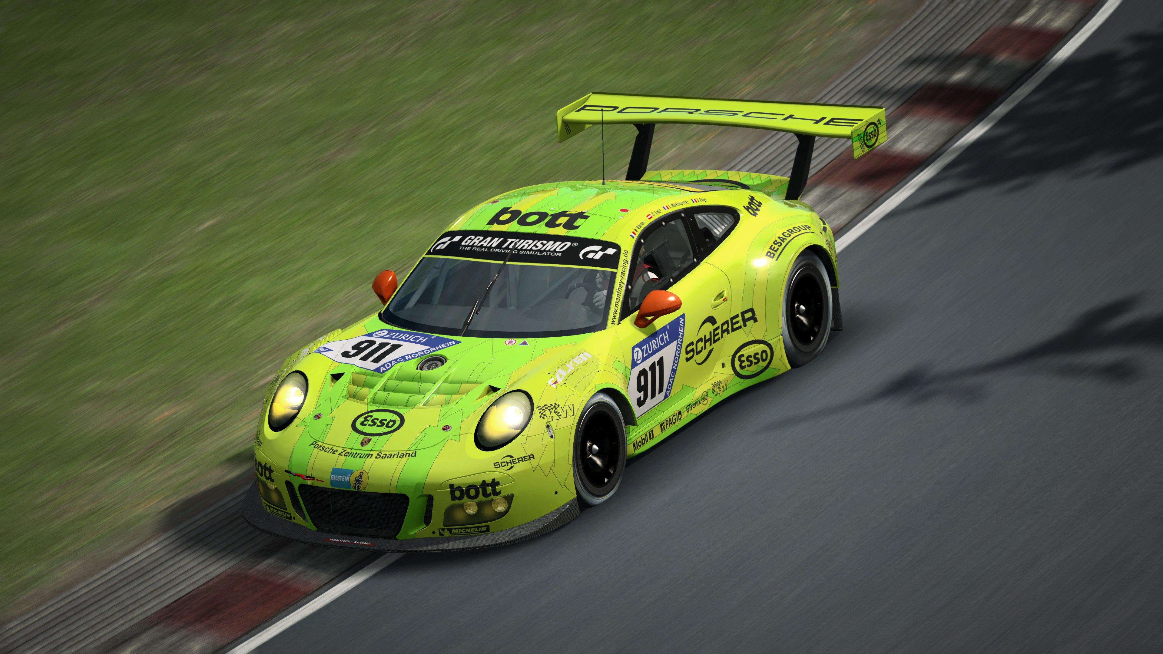 RaceRoom Porsche 911 GT3 R 3