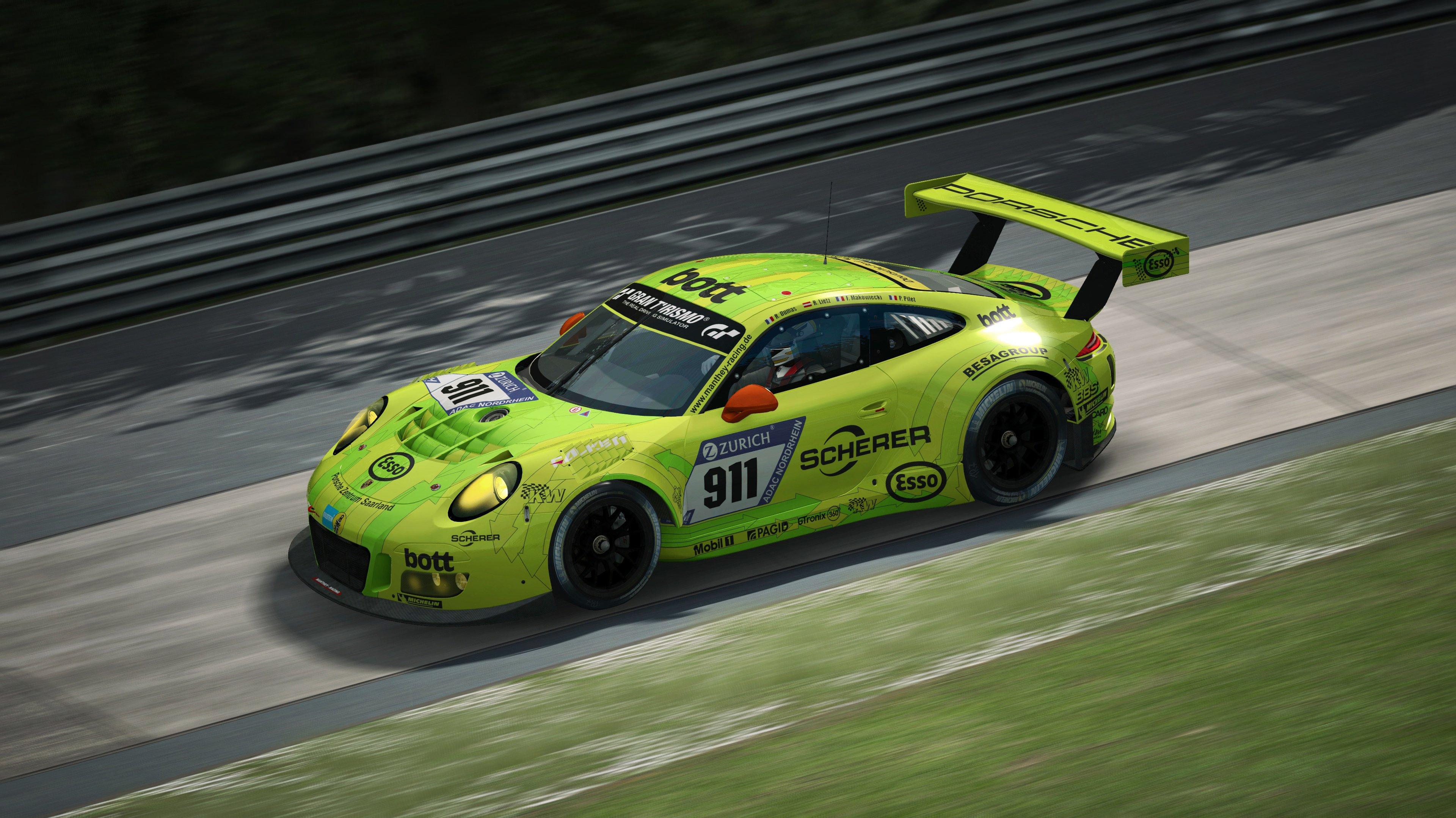RaceRoom Porsche 911 GT3 R 41