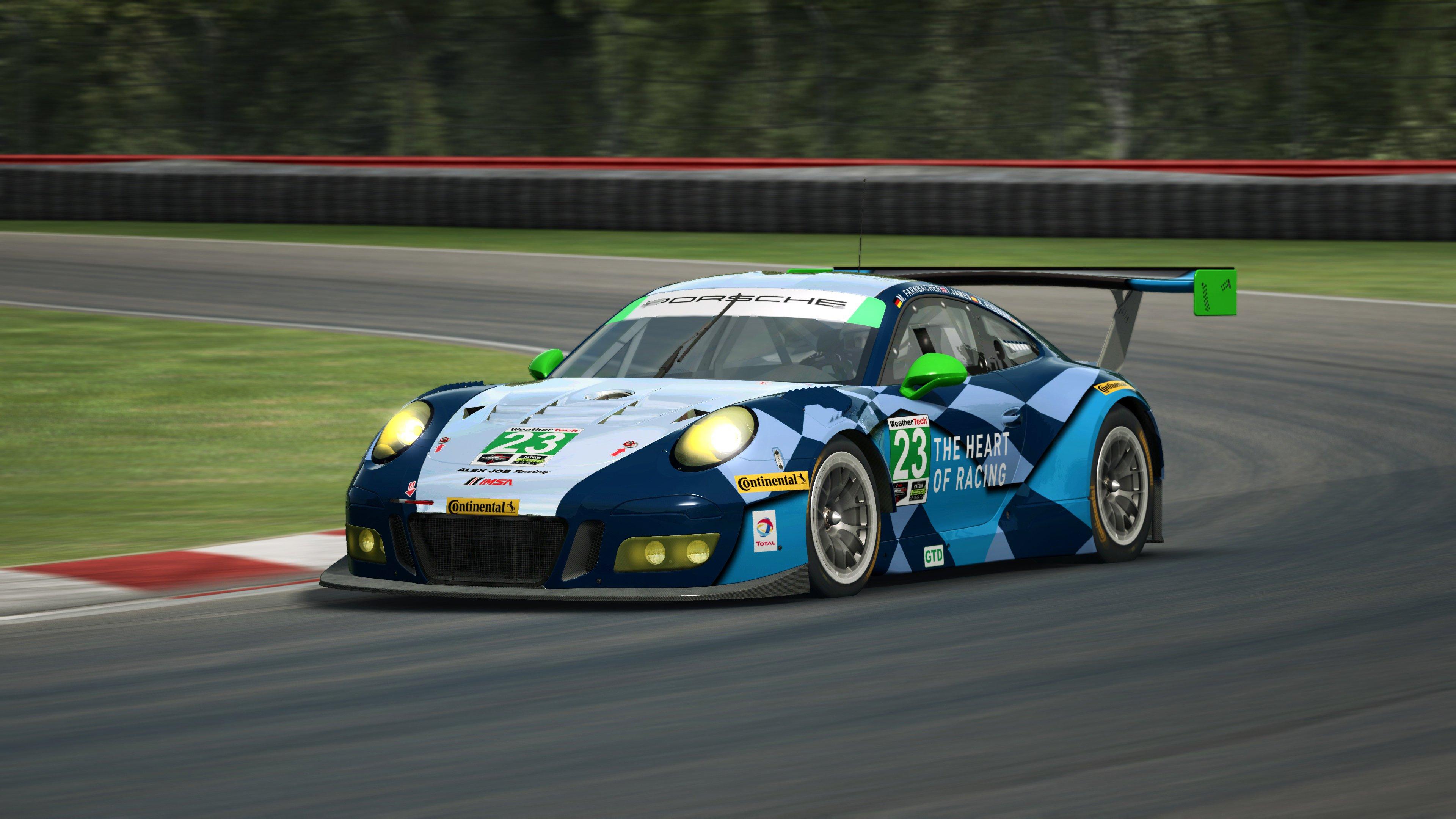 RaceRoom Porsche 911 GT3 R 6