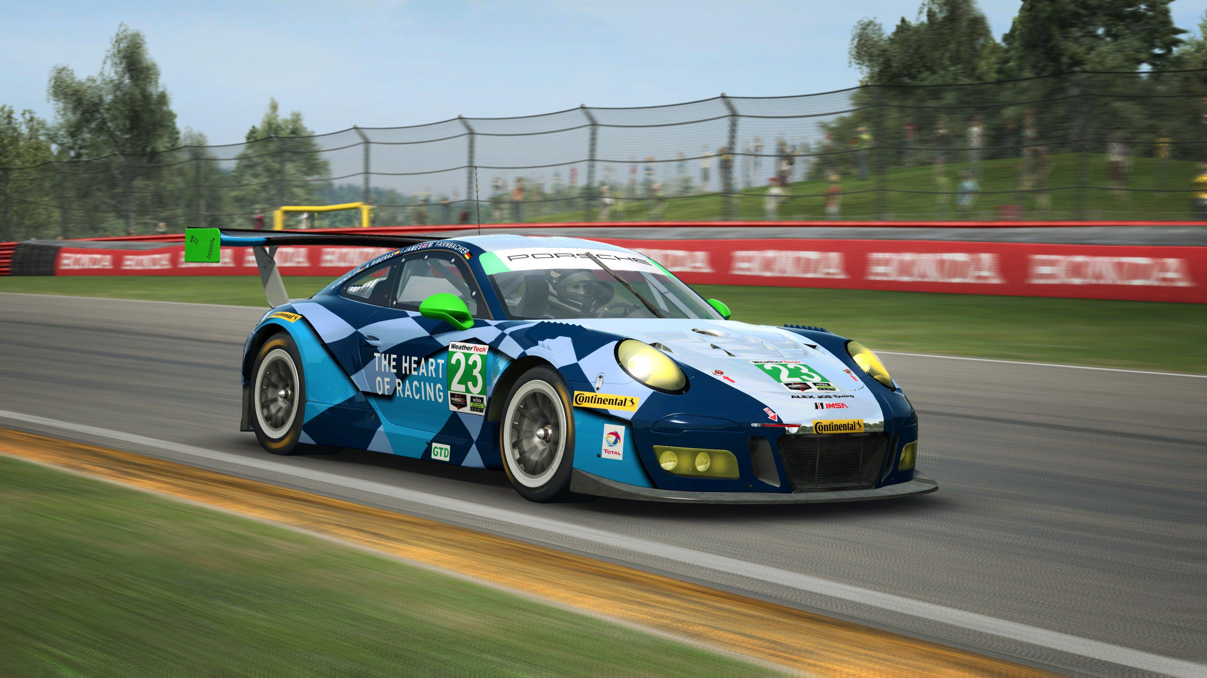 RaceRoom Porsche 911 GT3 R 7