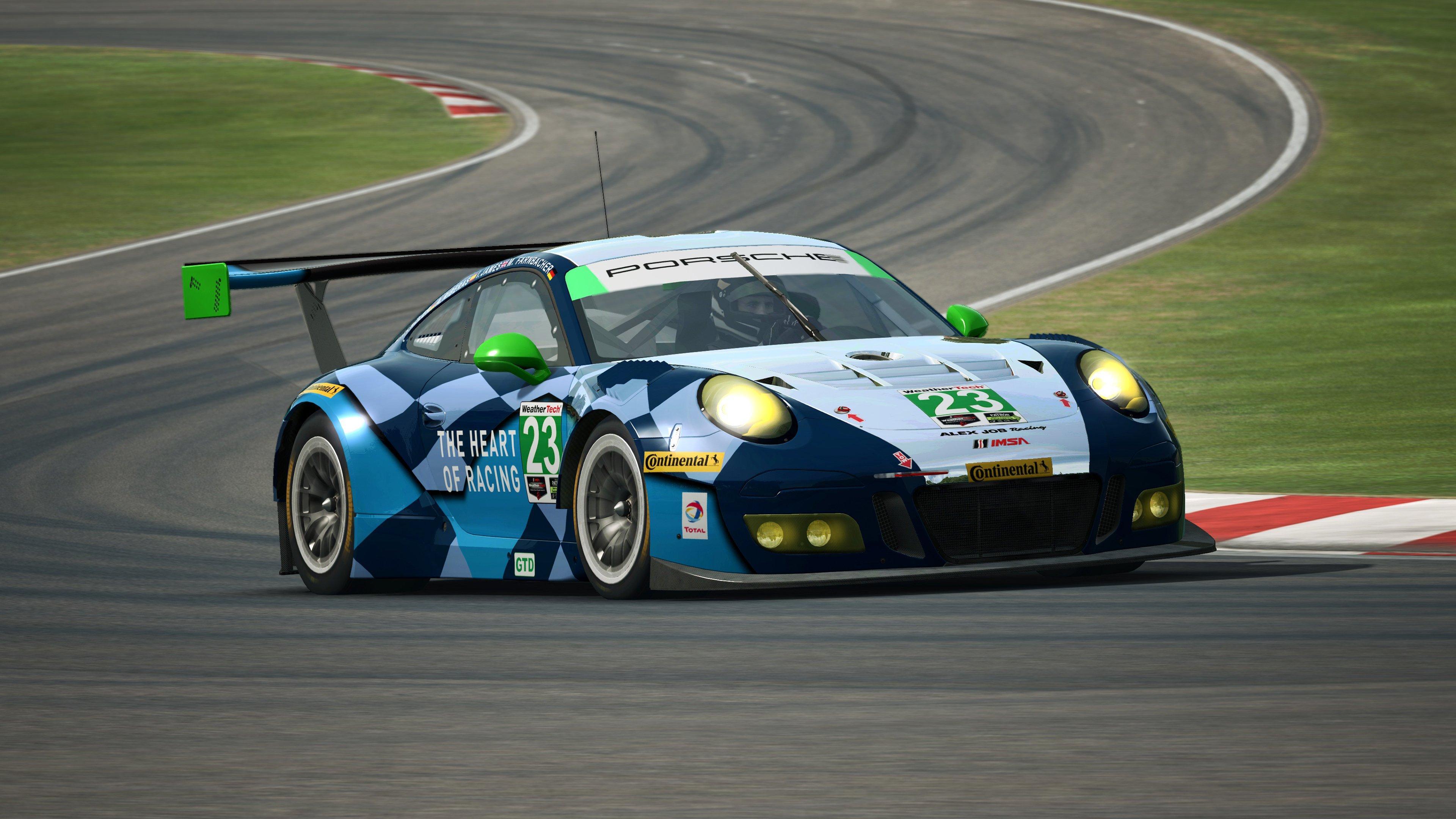 RaceRoom Porsche 911 GT3 R 8