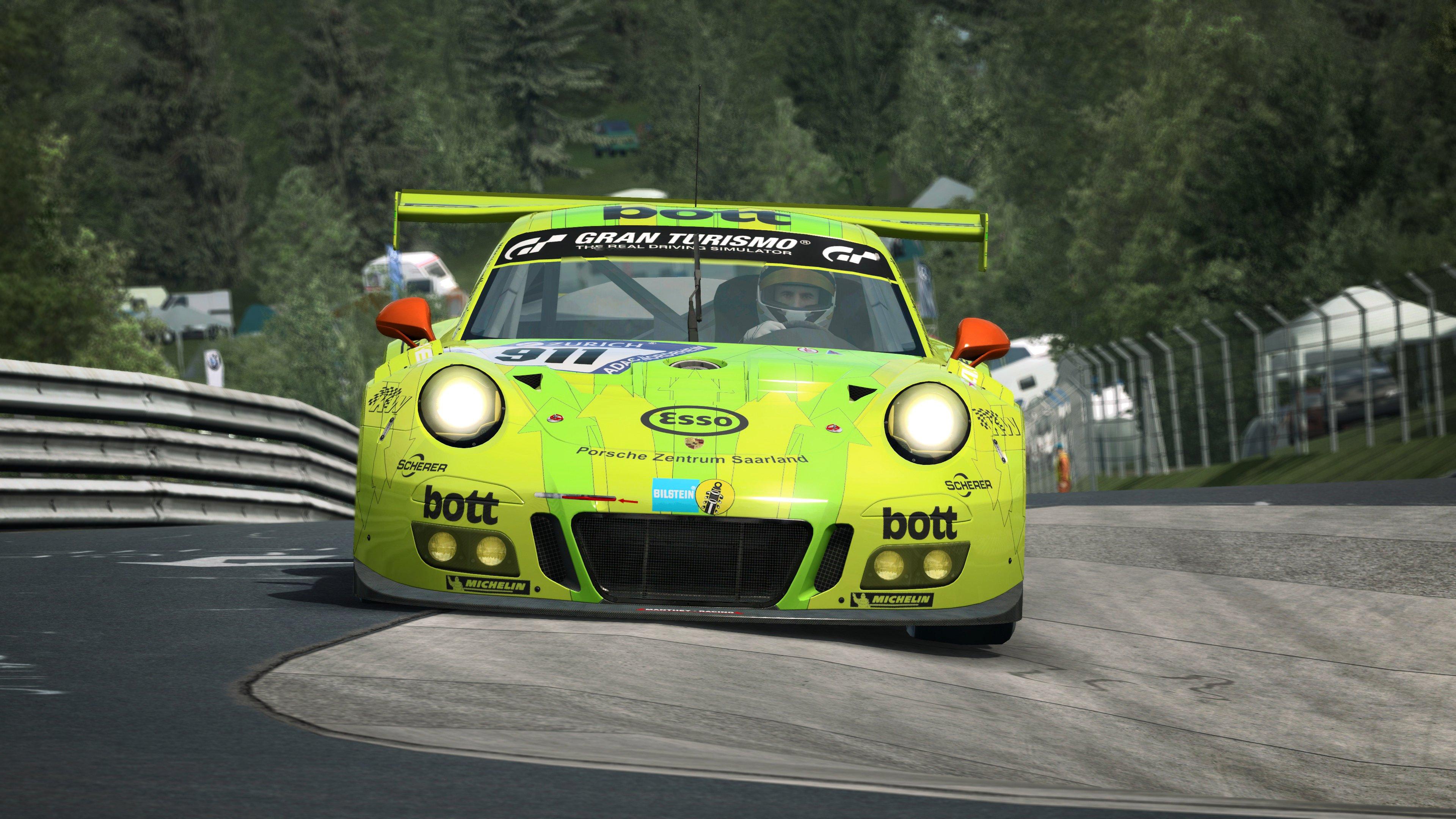 RaceRoom Porsche 911 GT3 R 9