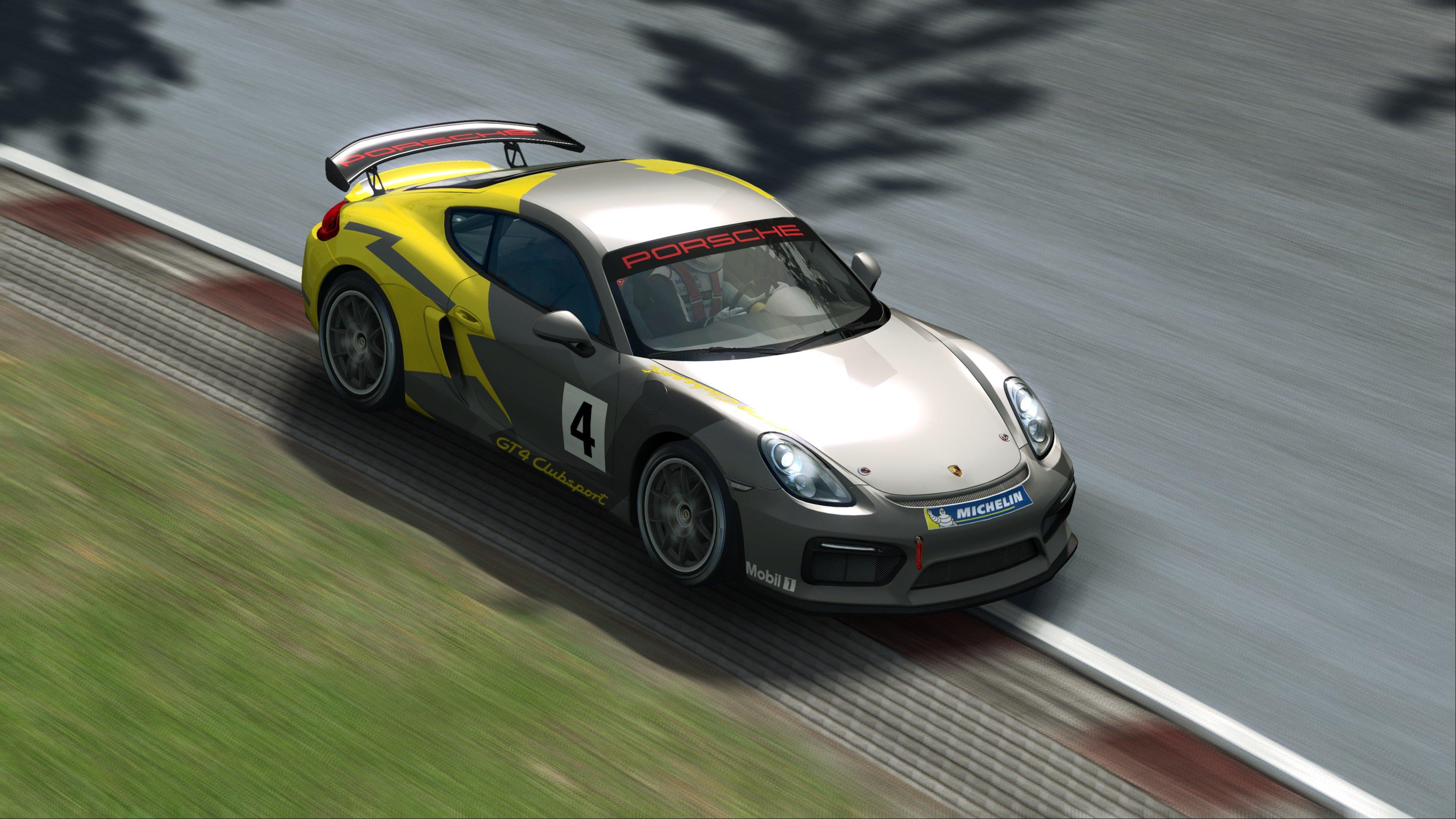 RaceRoom Porsche Cayman GT4 Clubsport 1