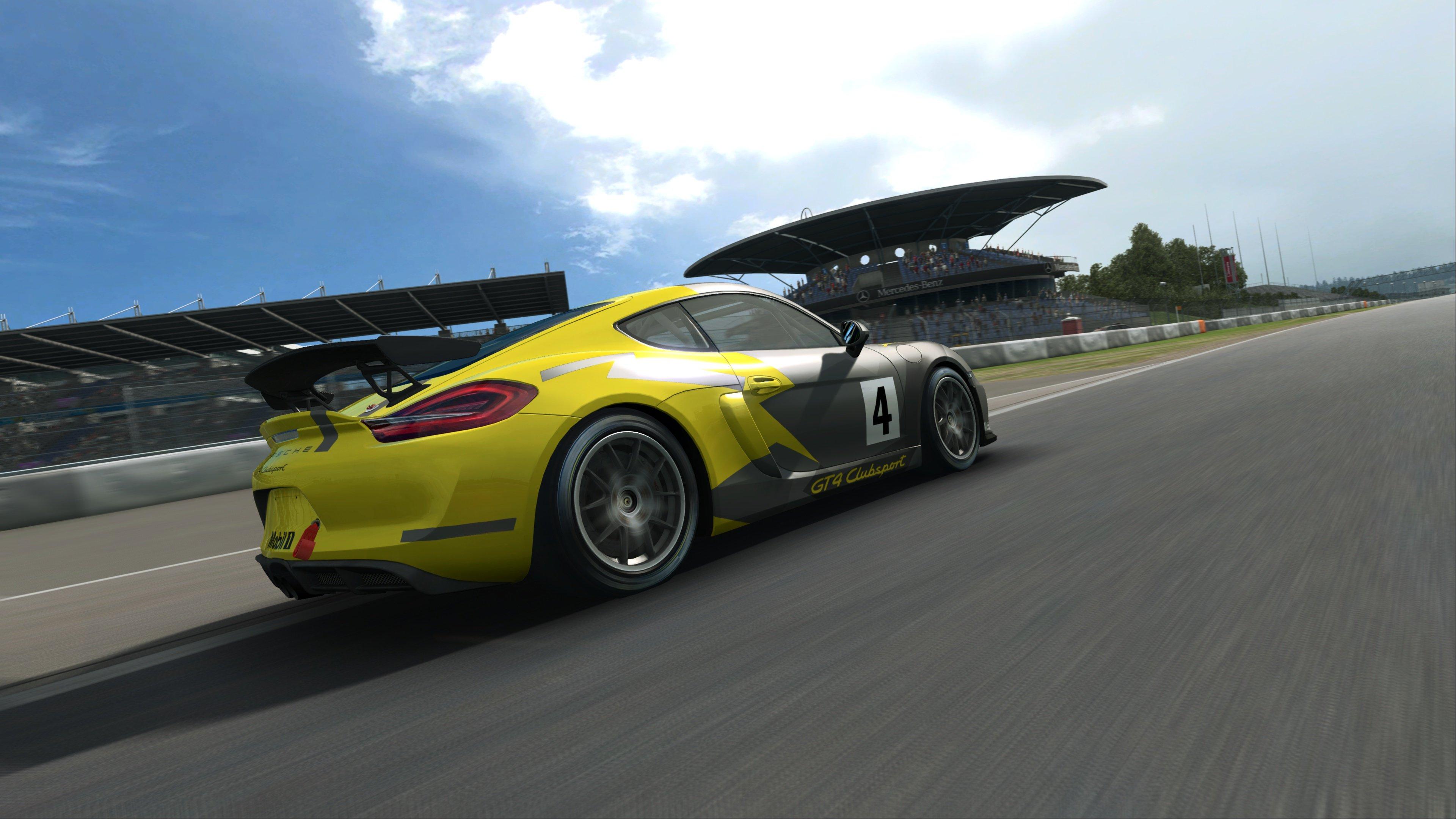 RaceRoom Porsche Cayman GT4 Clubsport 12