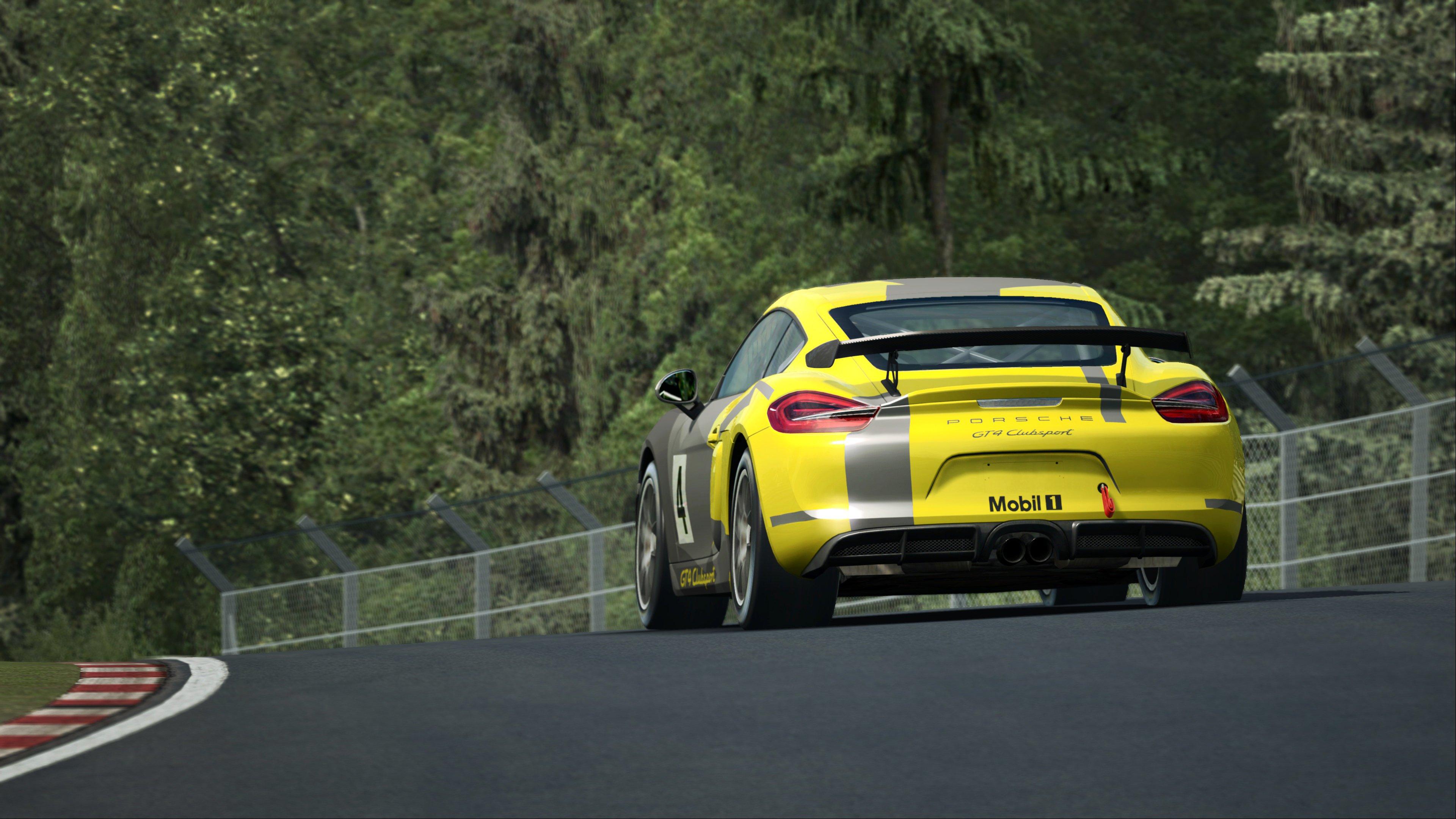 RaceRoom Porsche Cayman GT4 Clubsport 15