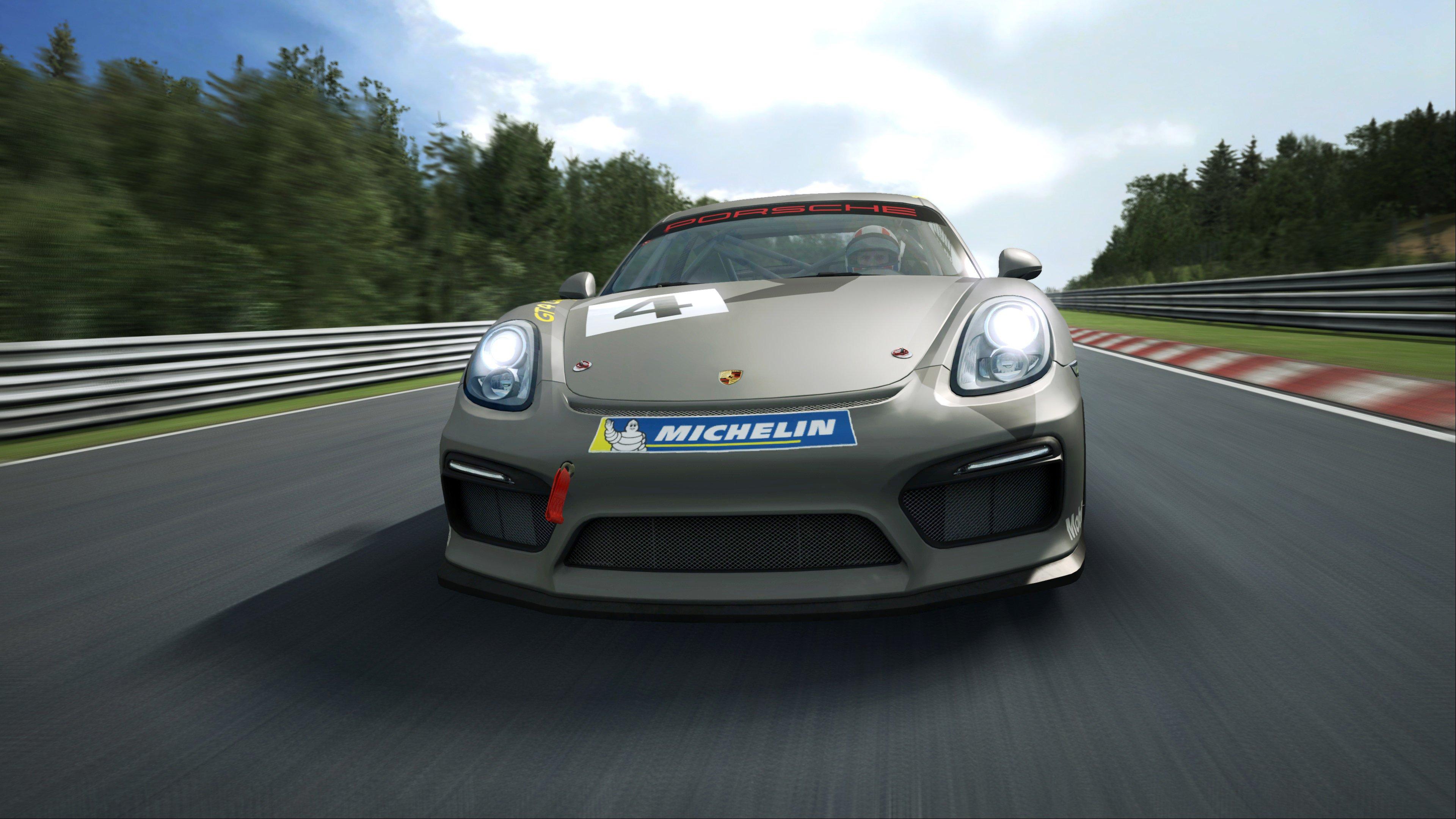 RaceRoom Porsche Cayman GT4 Clubsport 16