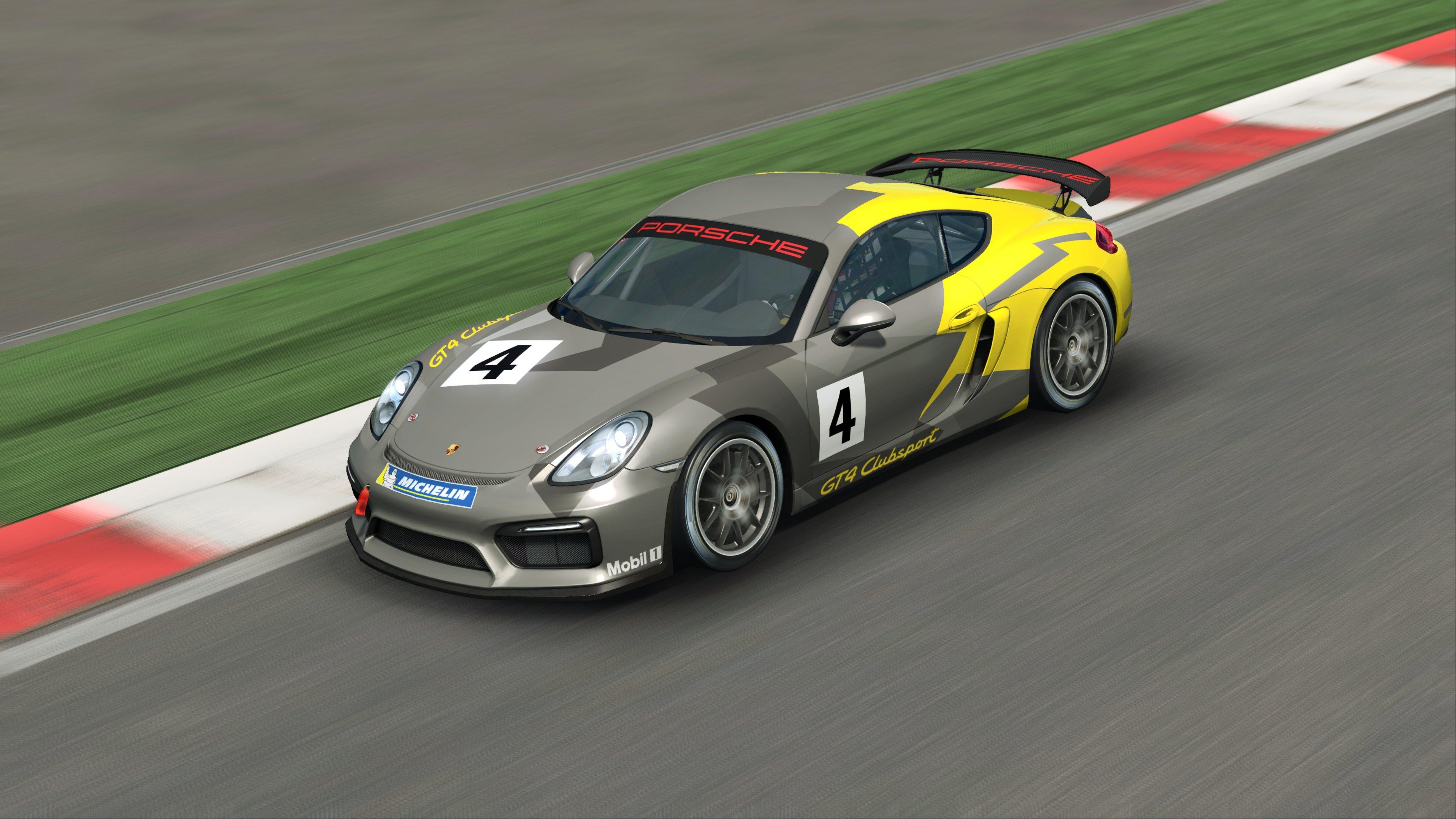 RaceRoom Porsche Cayman GT4 Clubsport 2