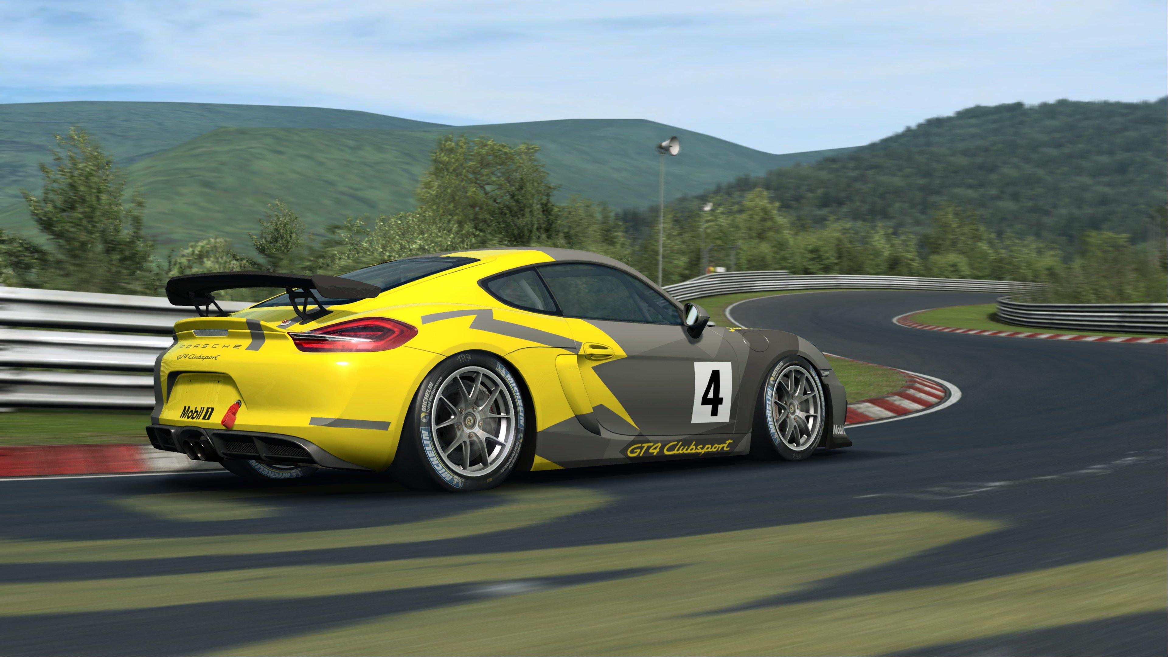 RaceRoom Porsche Cayman GT4 Clubsport 3