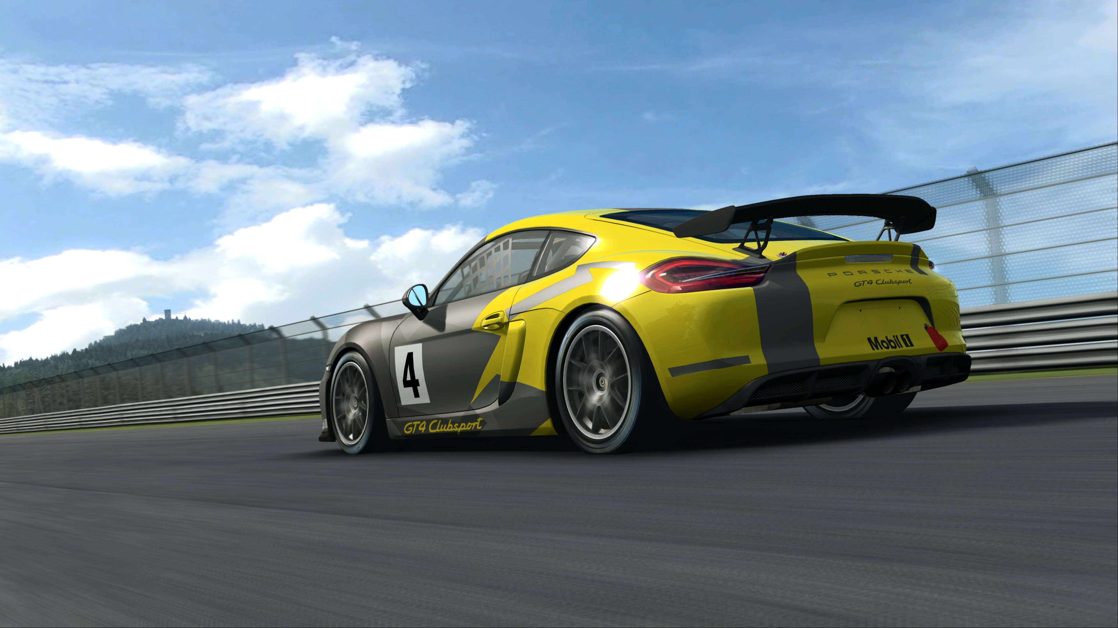 RaceRoom Porsche Cayman GT4 Clubsport 4