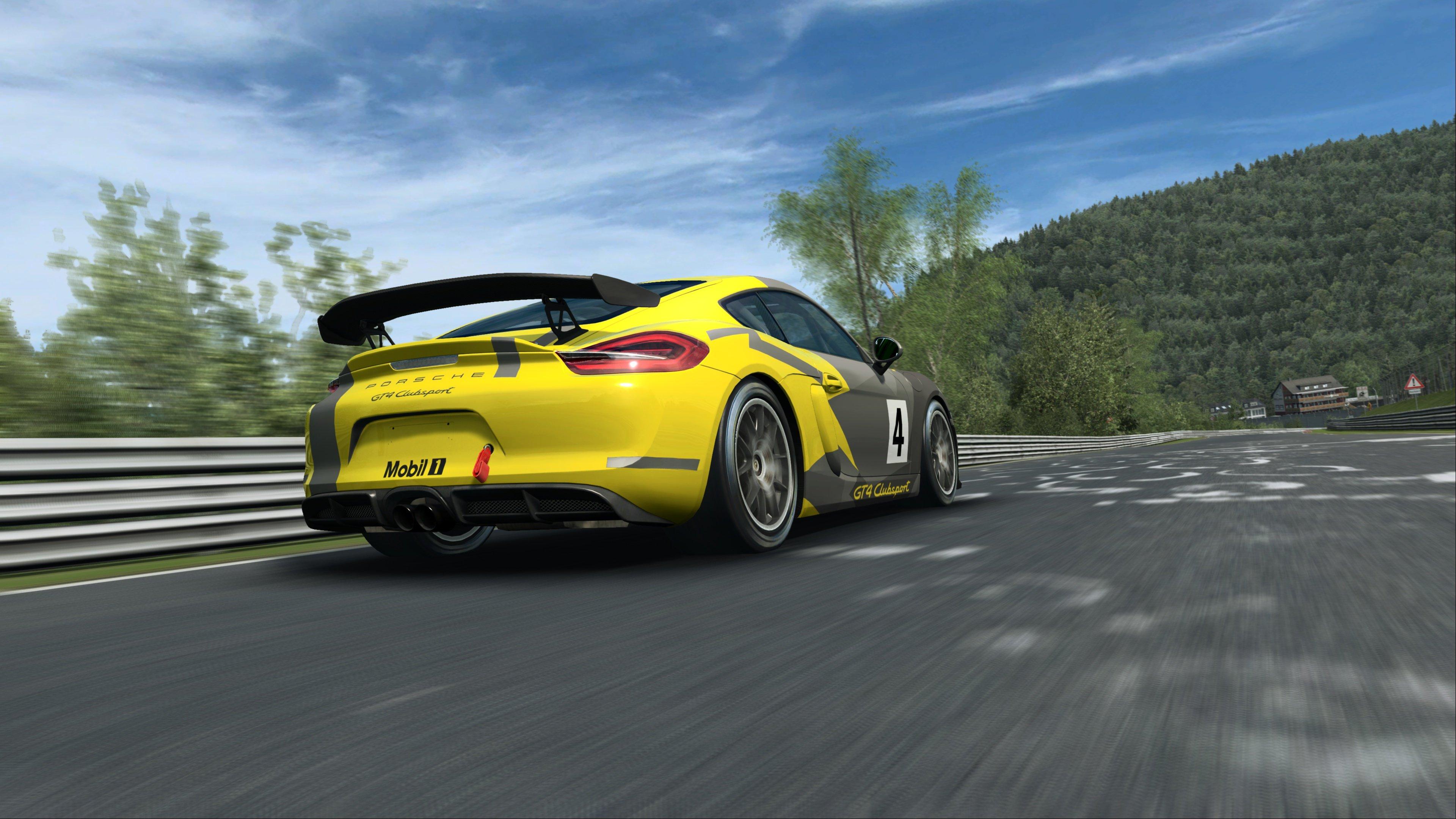 RaceRoom Porsche Cayman GT4 Clubsport 5