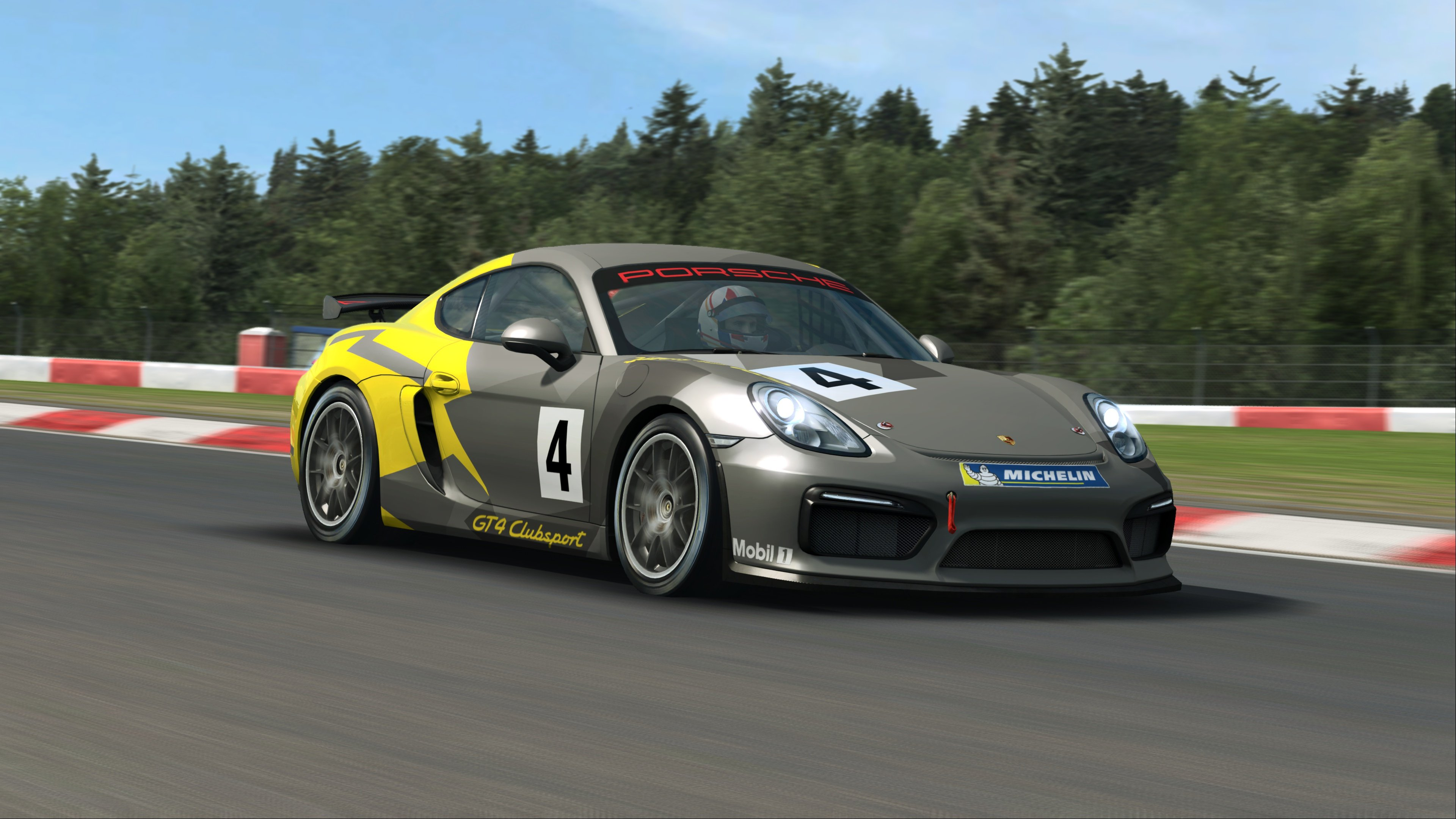 Raceroom Porsche Cayman Gt4 Clubsport Joins The Porsche Dlc 1 Line Up Inside Sim Racing