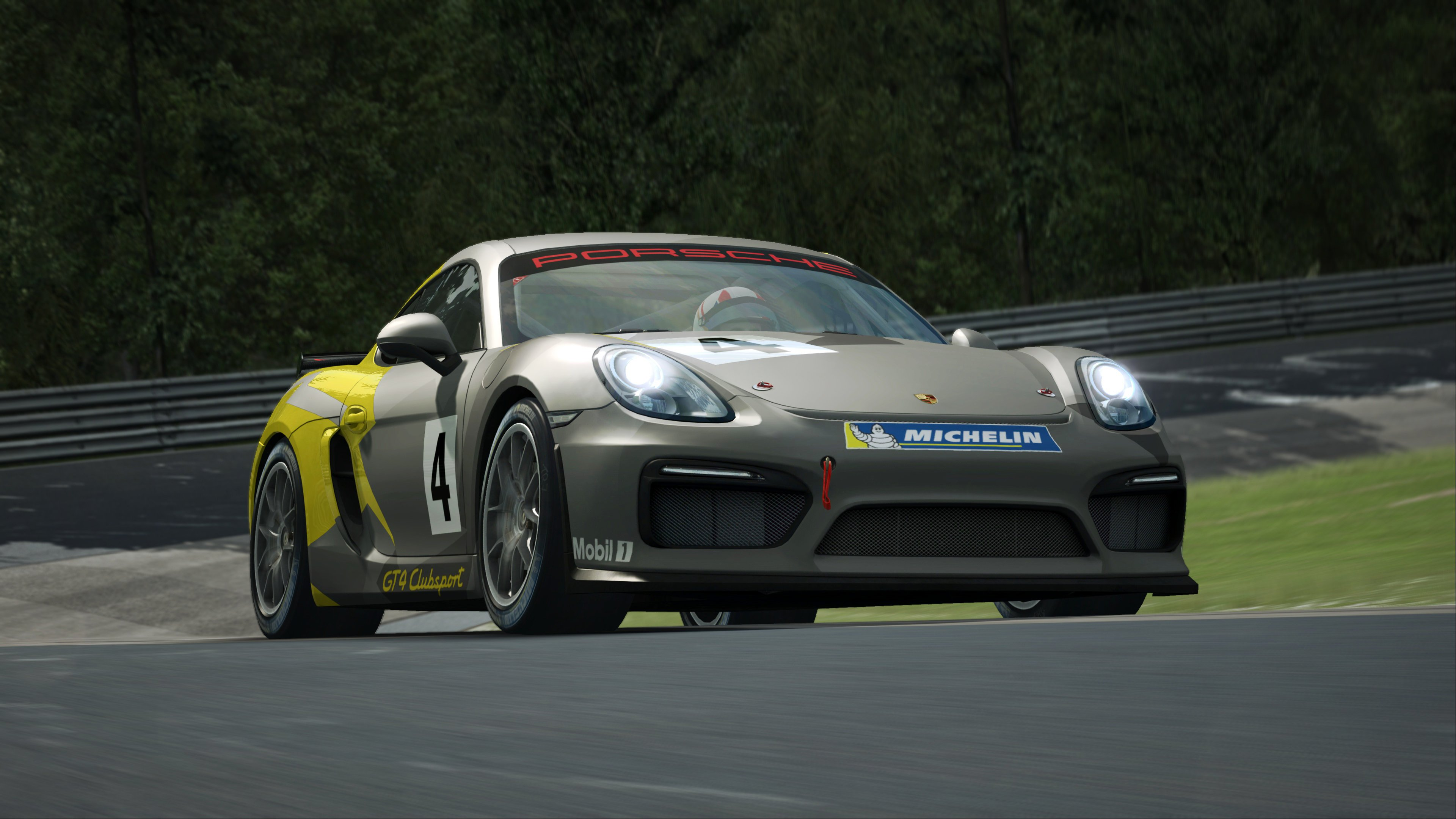 RaceRoom Porsche Cayman GT4 Clubsport 8