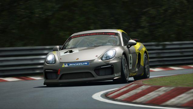 RaceRoom Porsche Cayman GT4 Clubsport 9