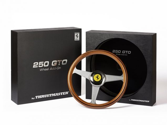 Thrustmaster Ferrari 250 GTO rim and box