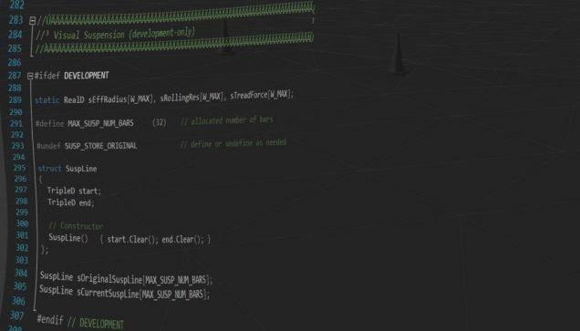 rFactor 2 physics code
