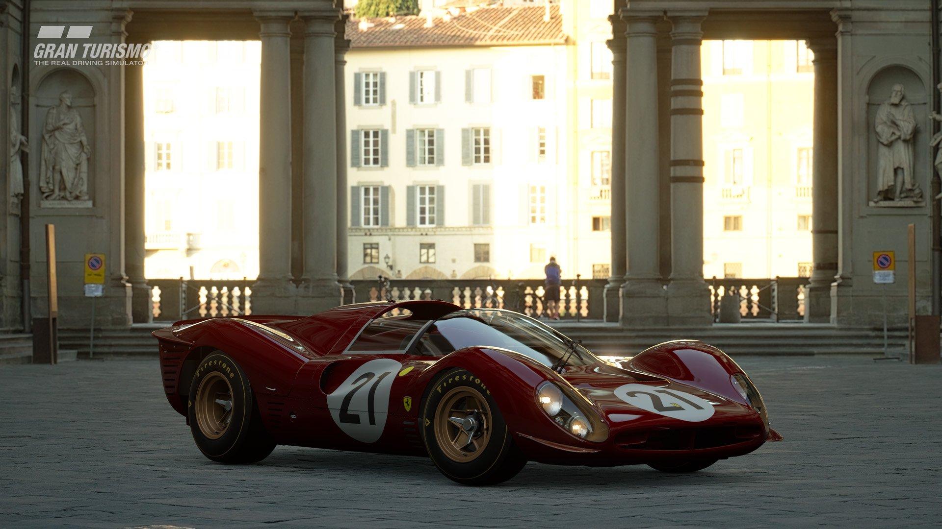 Gran Turismo Sport January update Ferrari 330 P4 2