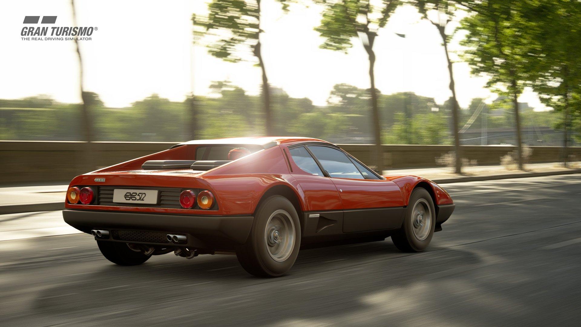 Gran Turismo Sport January update Ferrari 512 1
